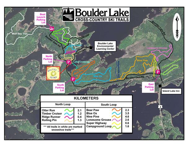 Duluth Ski Map - Duluth mn us map